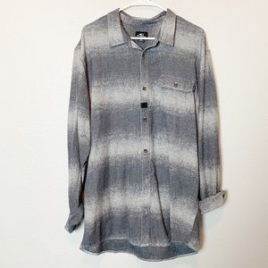 O'Neill Mens Flannel Button Down Shirt XXL